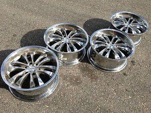 "20"" MC2 GMC Sierra Yukon Denali Tahoe Escalade Chrome Wheels Rims Silverado"