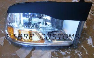 Dodge RAM Eyelids 09 13 T2 Headlight Grille 1500 Fiberglass