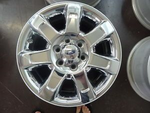 2012 Ford F 150 18 inch Factory Chrome Clad Wheels Rims