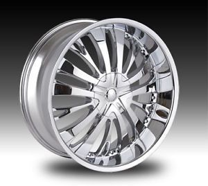 "18"" Tyfun TF705 Wheels Rims and Tire Package Chrome 5x114 3 Altima Accord G6 20"