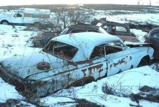 1962 Chevy Chevrolet Impala 2dr HT Rat Hot Rod Parts