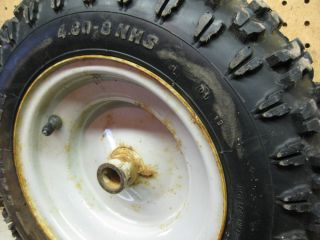 MTD 8 10 HP Snow Blower Snow Hog Tire and Wheel Assembly