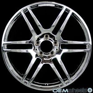 "19"" Chrome Sport Wheels Fits Mercedes Benz AMG C230 C240 C320 C32 C55 W203 Rims"