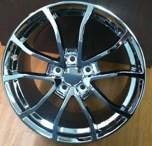 """C6 Centennial Cup 18 19"""" 427 C6 Z06 Corvette Chrome Wheels Rims Fits C6 2005"""