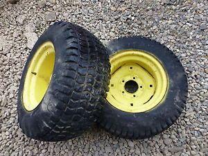 John Deere 140 H3 Tractor BF Goodrich 23x10 50 12 Rear Tires Rims