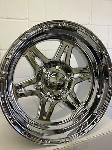 18 inch Chrome Raceline Renegade 6 Wheels Rims Ford F150 Expedition 6x135 18x10