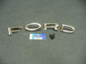 64 Ford Galaxie Hood Letters