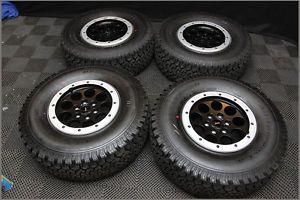 2013 NTO Ford Racing F 150 Raptor Beadlock Wheels and BFG All Terrain KO Tires