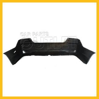 01 02 03 Honda Civic Coupe Rear Bumper Cover Primered Black Plastic 2dr EX LX SI