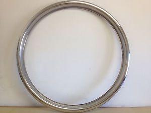 "18"" Stainless Steel Replacement Wheel Trim for Jaguar BBs Split Rim Alloy"