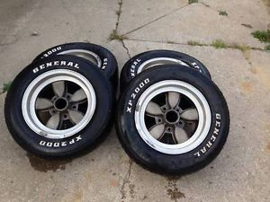 Vintage American Racing 200S Wheels 1955 Chevy Pro Street Gasser 200 s Daisy