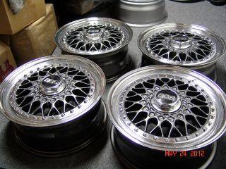 BBs RS 001 Wheels BMW E10 1600 2002 2002tii Touring 318i 325i VW Golf Honda