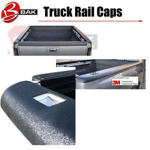 Dodge RAM Truck Bed Rail Cap Covers 2002 2008 Bak Pro Caps PCD6NH
