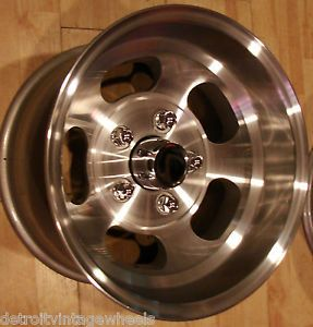 "Vintage 14x8"" Ansen Sprint Custom Aluminum Slot Drag Mag Rims Wheels 14"""