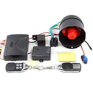 ES188 Car Keyless Entry System Remote Central Locking Alarm