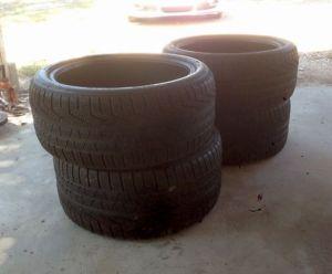 Pirelli Sottozero Winter Tires Nissan GTR Porsche Panamera Turbo s 255 40 R20