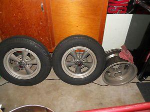 American Racing Magnesium Wheels 15x4 Firestone Halibrand 392 Hemi Gasser