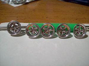 5 American Racing Type Wheels 1 25 Scale Model Car Kit Must See