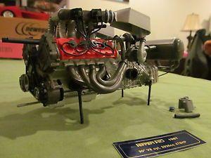 Pocher F40 Ferrari Engine Model 1 8 with Extra Parts