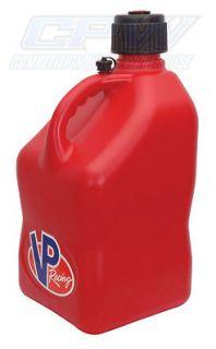 New VP 5 Gallon Red Racing Fuel Jug IMCA NHRA NASCAR