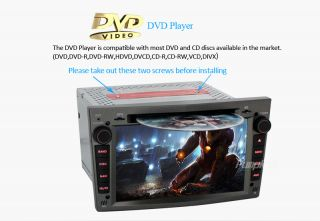 """7"""" Car DVD CD Radio Stereo Player GPS iPod MP3 for Opel Vauxhall Astra Head Unit"""
