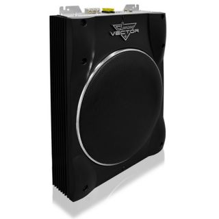 Lanzar VCTBS10 800 Watts Max 10'' Super Slim Active Subwoofer