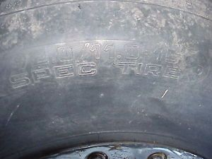 Hoosier Dirt Tire WRS 2 Spec 92 11 Late Model Mudbogger Sand Drags D55 Compound