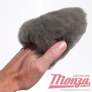 Flexipads Lambswool Mini Car motorbike Wash Mitt Ideal for Tight Areas