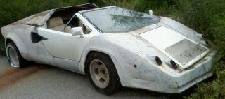 Lamborghini Countach Kit Car Body Shell Only