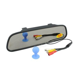 5''HD Car Rearview Mirror Monitor DVD VCD Player for Car Reversing Back Up Kit