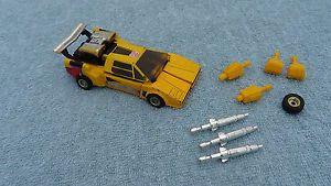 Vintage G1 Transformers Sunstreaker Lamborghini Complete Autobot Weapons Parts