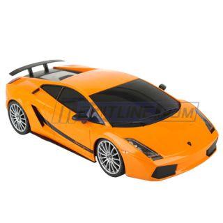 Lamborghini Superlaggera RC Remote Control Car 1 18 Orange XQRC18 5AA