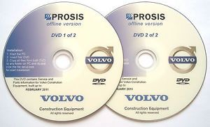 Volvo Prosis 2011 Workshop Manual Parts Catalog Diagrams Etc