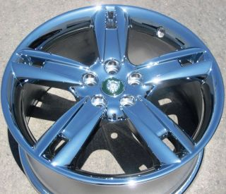 "18"" Factory Jaguar s Type Chrome Wheel Rim 1 Single Rim Front Vulcan 59786"