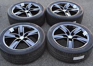 "20"" Camaro SS PVD Black Chrome Wheels Rims Tires 45th Anniversary Wheels"