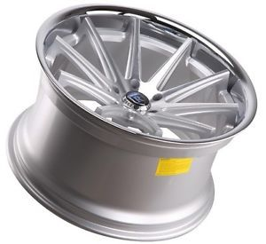 "20"" Rohana RC10 Silver Machined Face Wheels Rims Fit Infiniti G35 G37 Sedan"