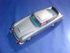 Gilbert 007 James Bond Car Aston Martin Battery Operated Parts or Restoration