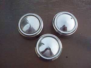 3 Mopar 1975 Plymouth Dodge Chrysler Mopar Wheel Dome Center Caps