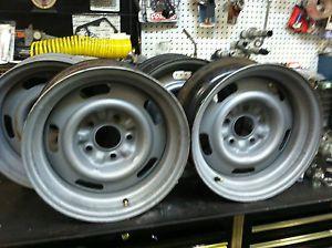 1968 Corvette AG Code Rally Wheels