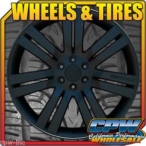 "24"" inch Wheels Rims Matte Black for Cadillac Escalade ESV Ext 24S Marcellino"