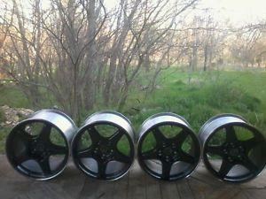 1996 Corvette Grand Sport Wheels 17x9 5 17x11