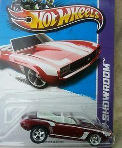 2013 Hot Wheels Super Treasure Hunt 69 Camaro $$$$