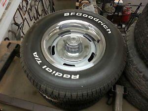 68 Chevy Camaro Original Rally Wheels