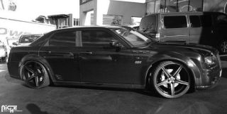 "22"" Niche Apex Wheels Dodge Magnum Charger Challenger Chrysler 300C SRT 8 Rims"