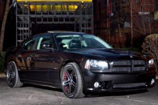 "22"" Dodge Charger R T SE SXT SRT8 Rohana RC5 Concave Matte Black Wheels Rims"