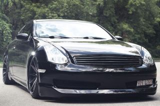 "20"" Nissan Altima Rohana RC10 Deep Concave Black Staggered Wheels Rims"