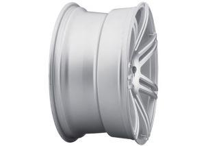 "20"" Infiniti G35 Sedan Concept One CSM7 Concave Silver Staggered Wheels Rims"
