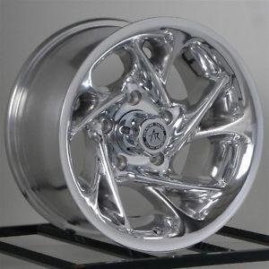 15 inch Chrome Wheels Rims Nissan Toyota Isuzu Truck Chevy GM Truck 6x5 5 6 Lug