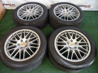 "20"" Porsche Cayenne RS Spyder Factory Wheels Tires Turbo s GTS Audi Q7 BBs"