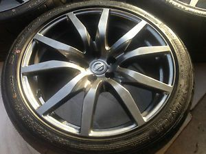 Nissan GTR GT R GT R Wheels Tires Rims R35 Run Flat 2013 Dealer Take Off